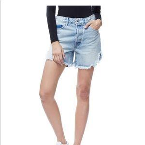 Good American Bombshell shorts blue170